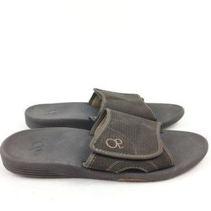 Op Mens Sandals Size 11 44 Brown Sticky Strap